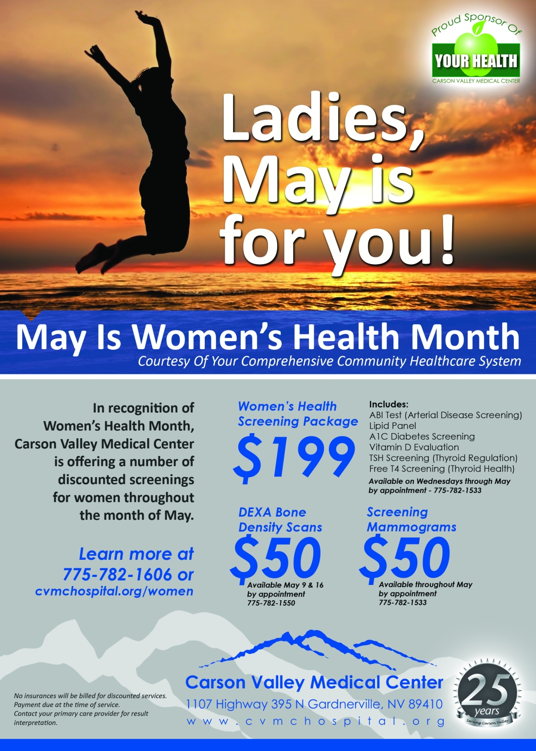 Womens health flyer